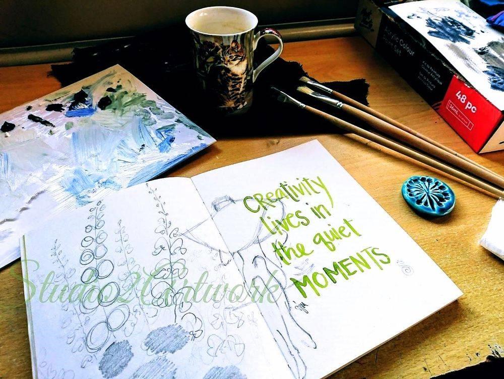 Sketchbook Susan Jane MAy Artist Studio2Artwork