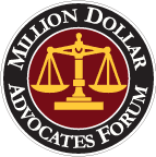 Greg Lauer, Life Member of Million Dollar Advocates Forum