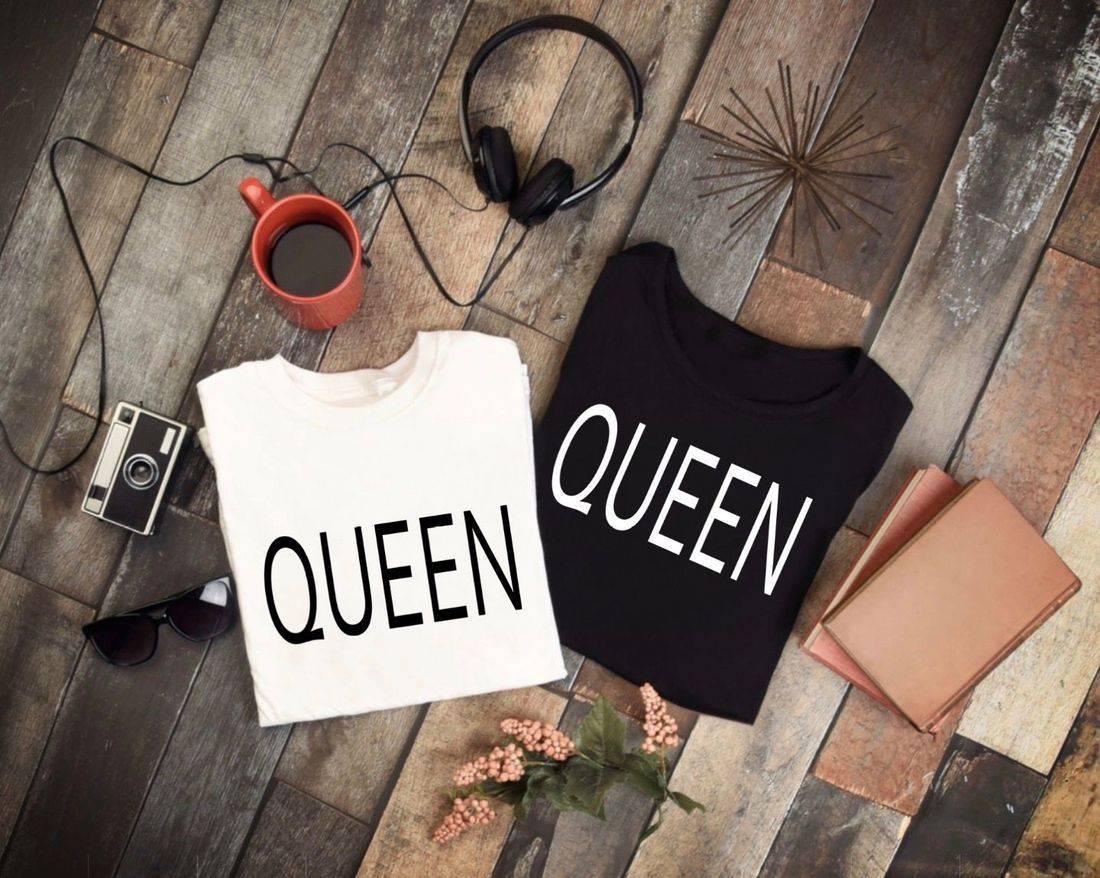 t-shirt, queen