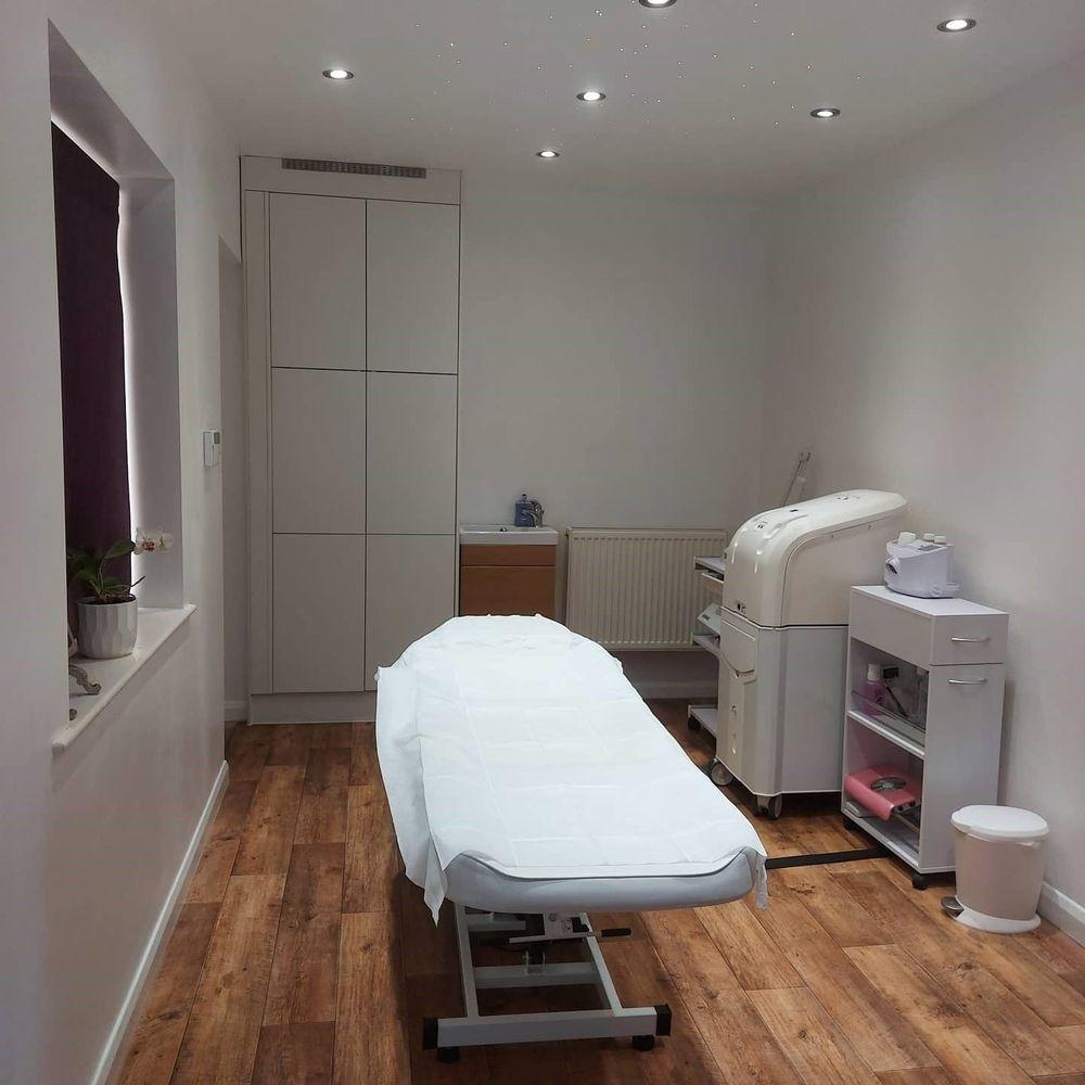 Beauty skin treatment room