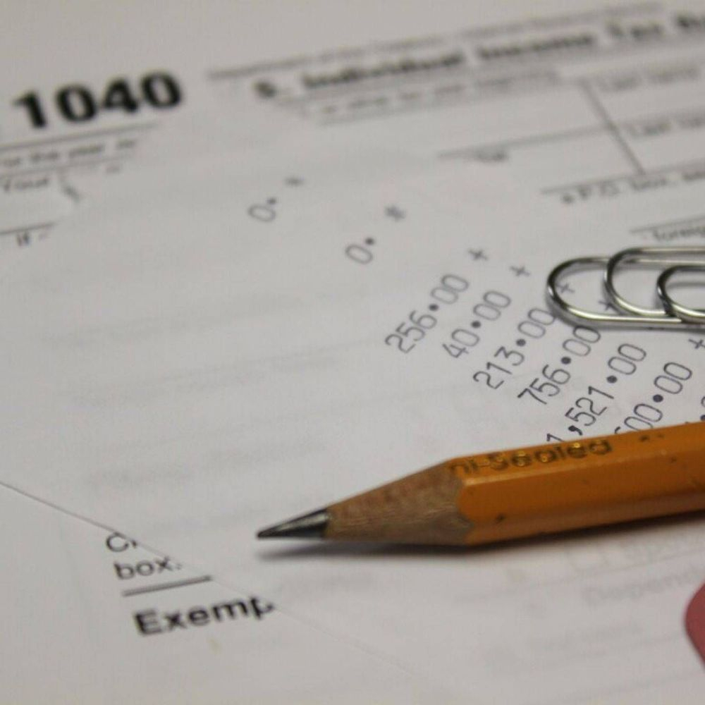 Form 1040 Filing Taxes