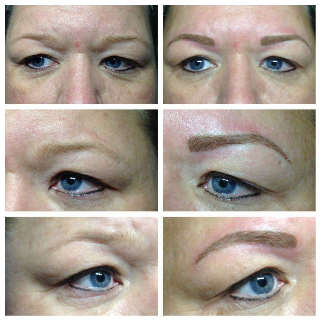 permanent makeup, cosmetic tattooing, micropigmentation, micro-blade, hair stroke, eyebrows, brows