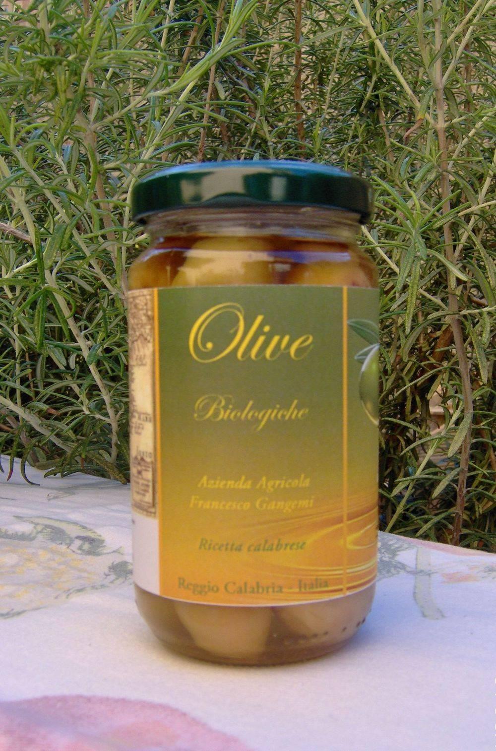 olive biologiche in ricetta calabrese-Azienda Agricola Francesco Gangemi