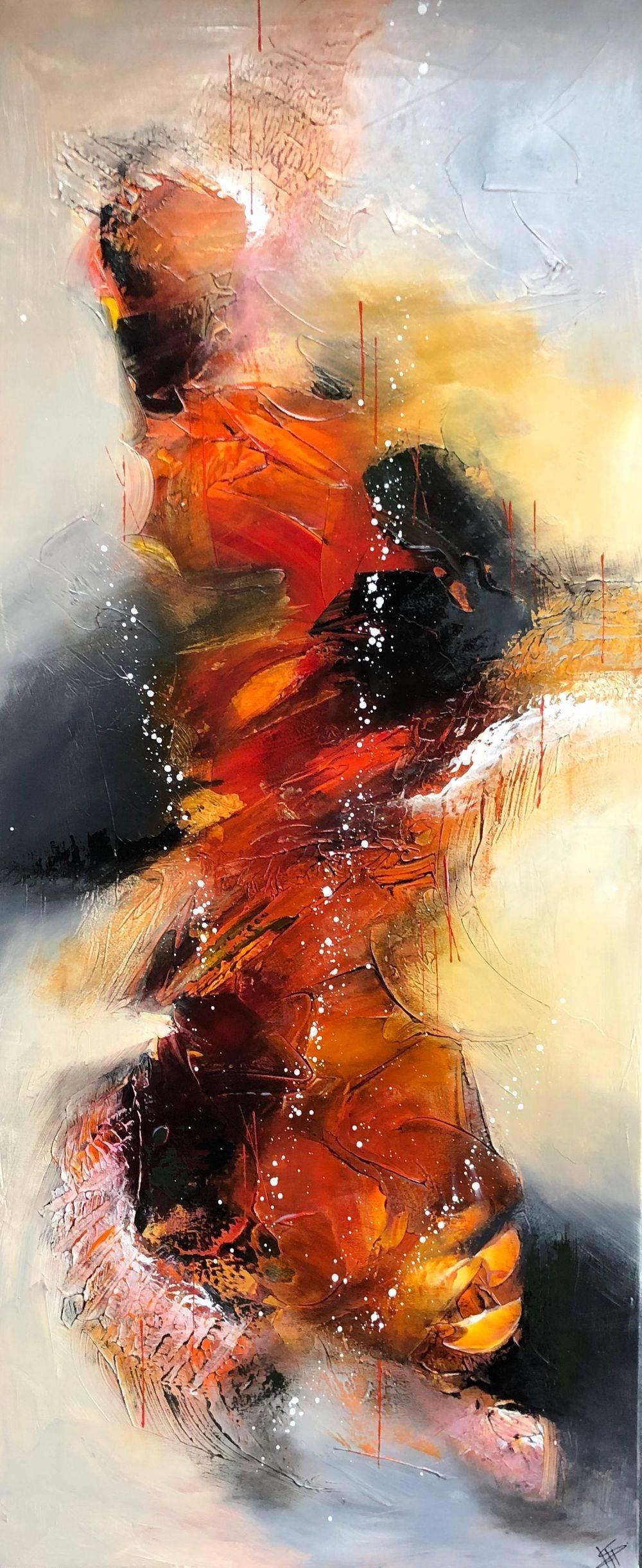Salg-af-farverige-malerier-rød