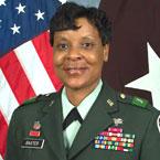 Brigadier (Brig-a-deer) General Sheila R. Baxter