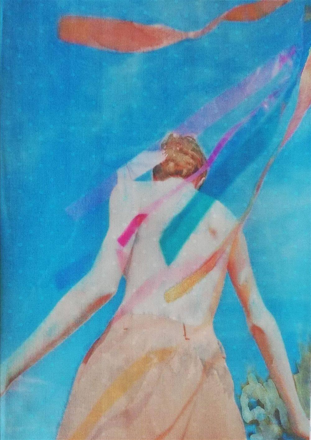Aquarelle, Textile, Femme, Histoire de l'art, Portrait