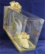 I Love Shoes - Glittery Gold- (3D shoe