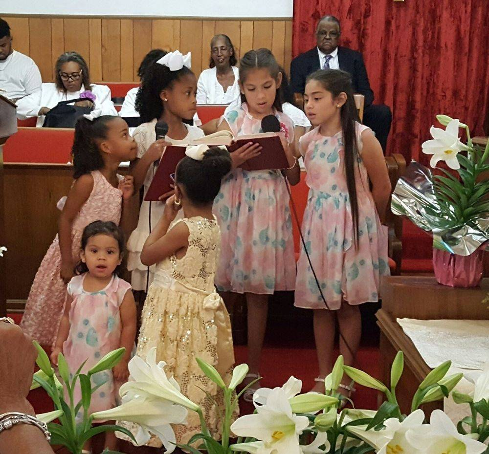 Resurrection Sunday 2017! Our first children's choir in many years!