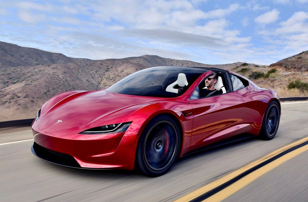 Falcon Tesla Wedding Cars 2022 Roadster