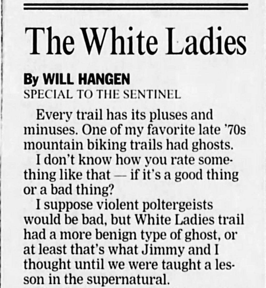White Ladies, White Ladies Santa Cruz