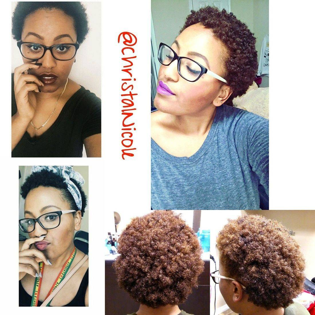 natural hair color transformation