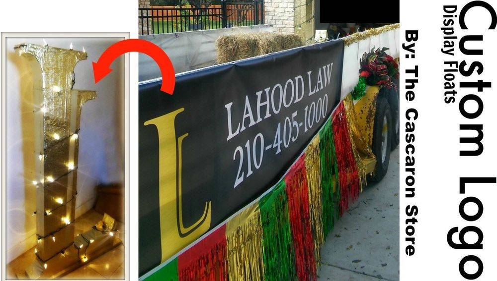 custom law office parade float