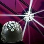 ADJ LED white mirror ball