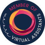 Logo for membership of We  Are Virtual Assistants