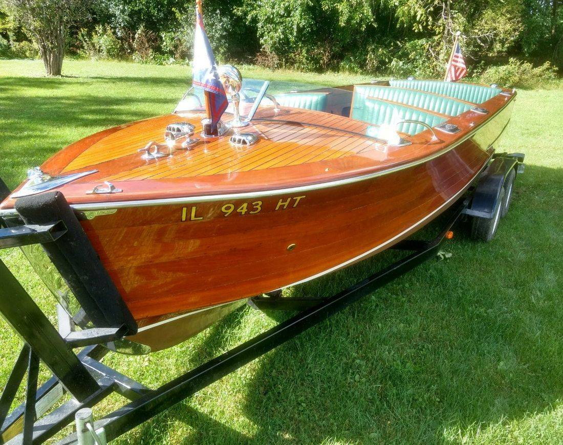 Rare 22 Hacker Craft for sale Bergersen Boat