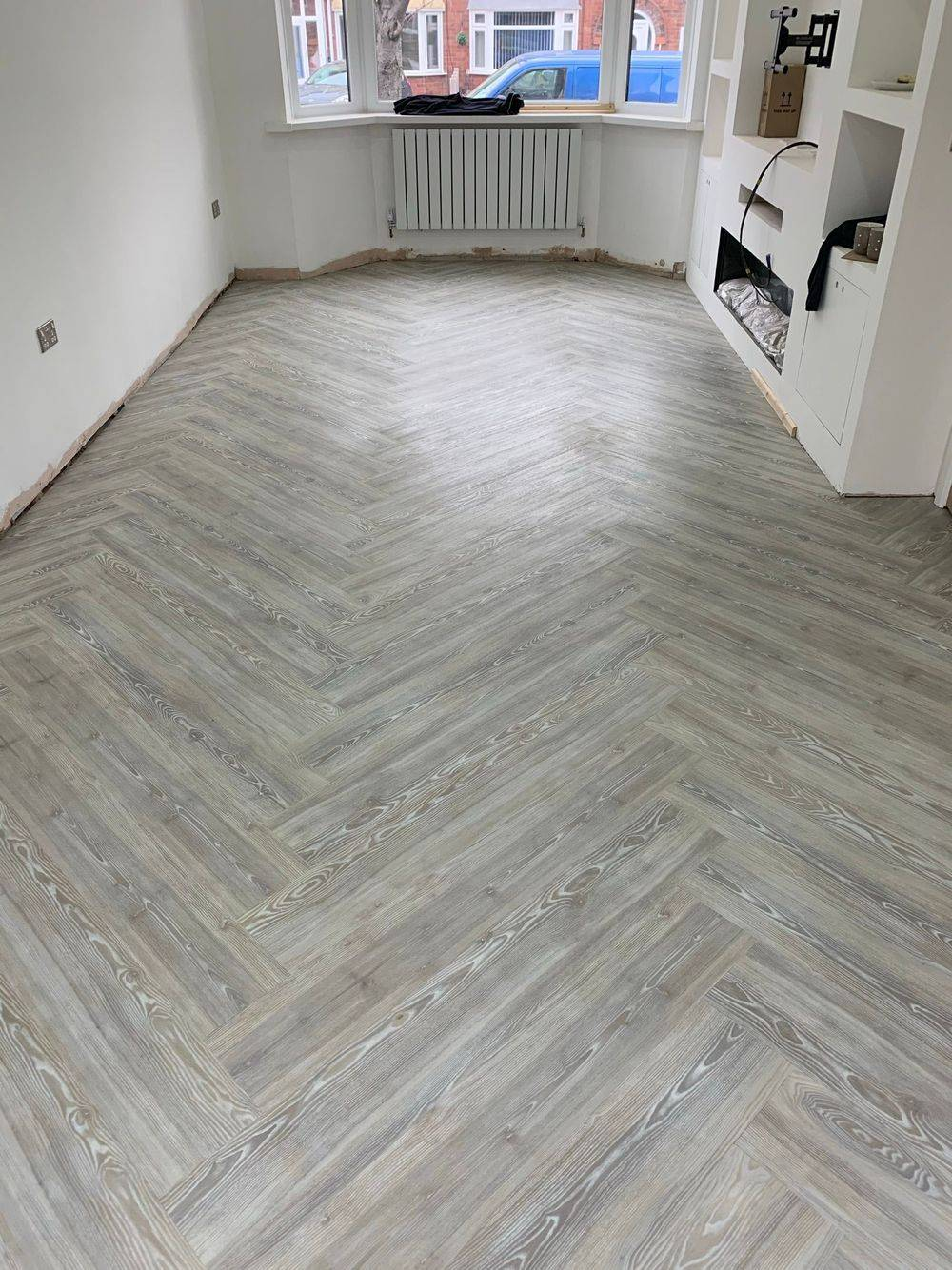 LVT Amtico Flooring Wolverhampton Kitchen Lounge Family Room