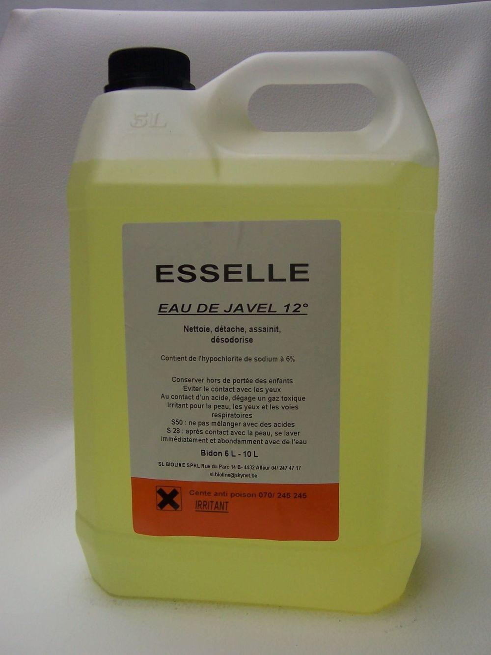 EAU DE JAVEL 12°  5 litres