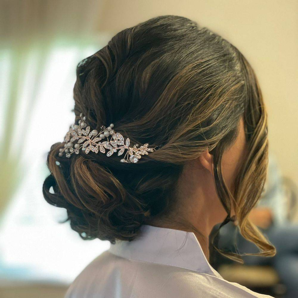 Floral Branch up-do