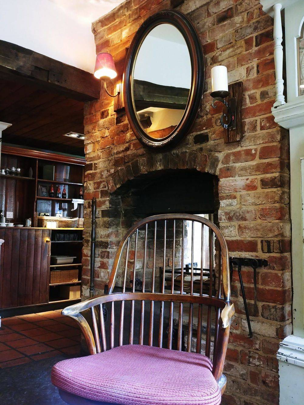 cosy country pubs, fireplace , grandfather clock , old english pubs , vintage inns united kingdom , british & far east traders , friars oak pub hassocks , sussex country pubs, best english pubs