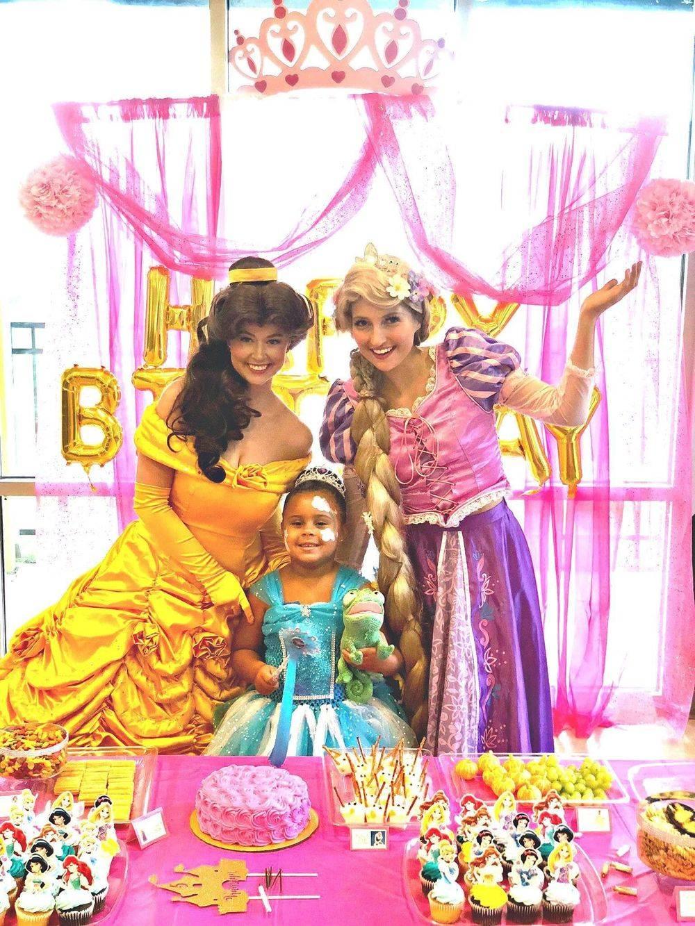 princess birthday party characters san antonio tx
