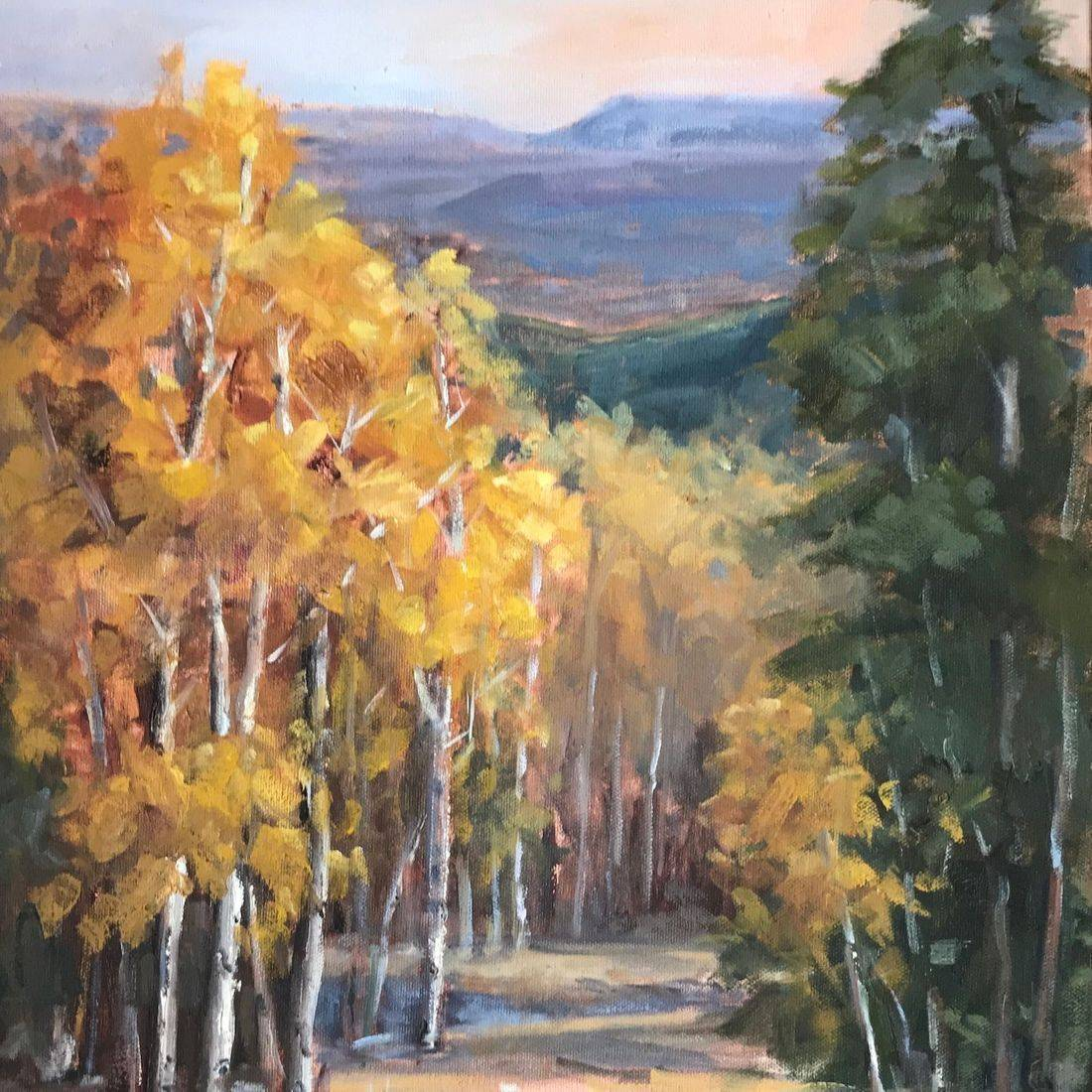 Aspen, Gunnison, Colorado, Arrowhead Ranch, San Juan Mountains, Western Art