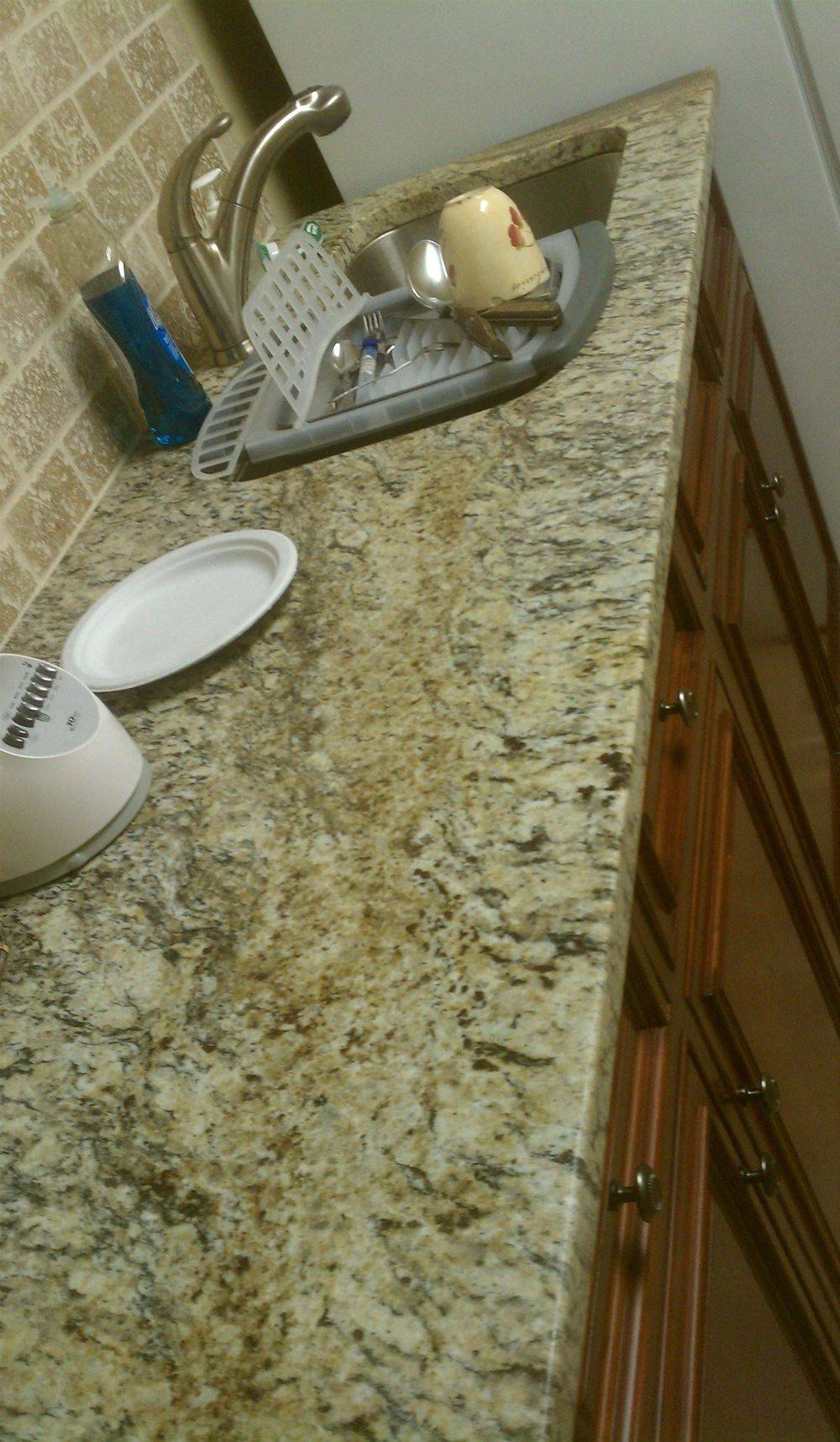 completed kitchen granite counter top, kitchen remodel, kitchen remodel ideas, kitchen design, auburn Alabama, Alabama, opelika Alabama, lee county alabama