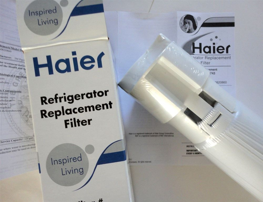 Haier - 0060218743 - RF-2800-13 - RF-2800-15 - refrigerator replacement fridge ice water filter cartridge - sold at www.aaafilterfast.com
