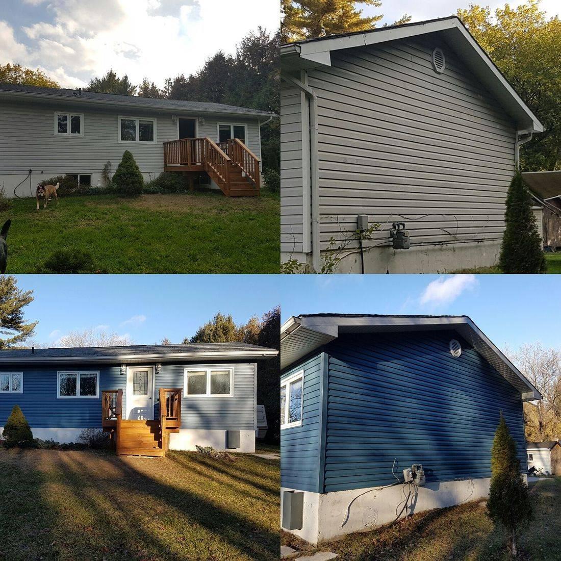 Exterior Renovations, Muskoka, Siding, Contractor, Carpenter, Decks