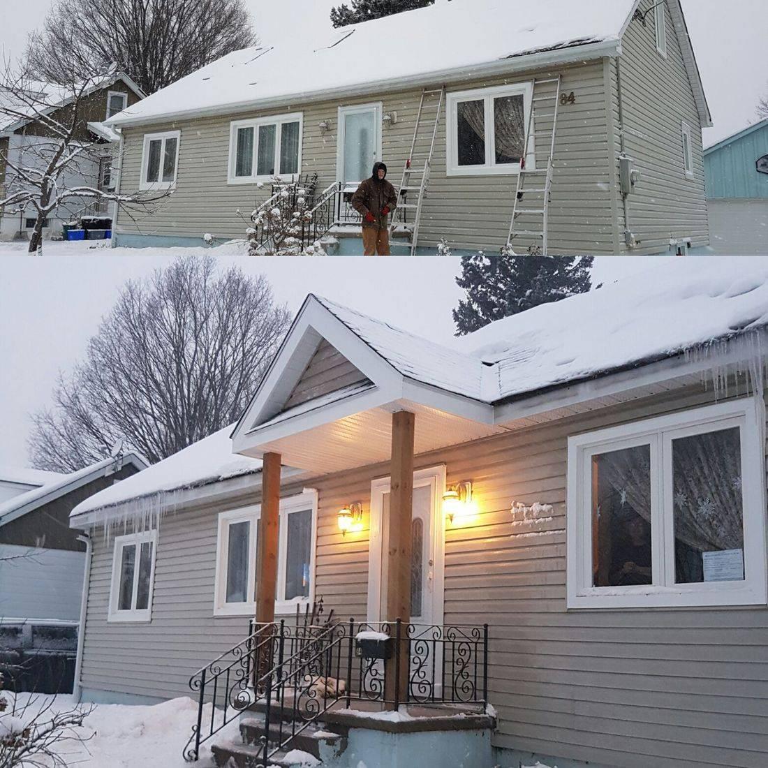 Exterior Renovations, Contractor, Muskoka, Carpenter, Siding, Roofing, Decks, Veranda