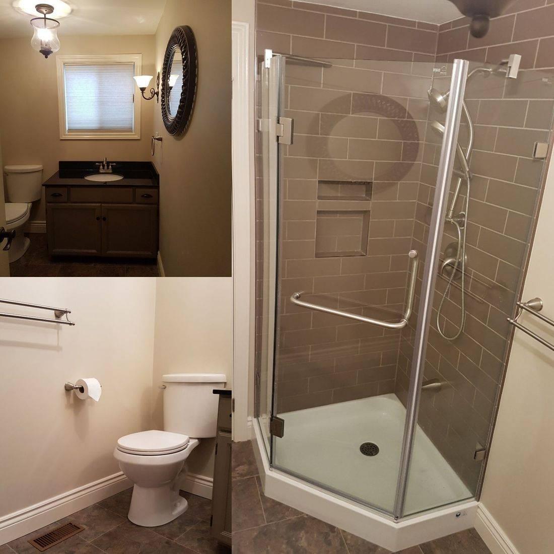 bathroom, renovation, tile, contractor, muskoka