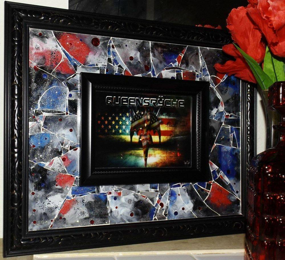 View from Perdition Shattered Mosaic Glass art by Glass by Priscilla