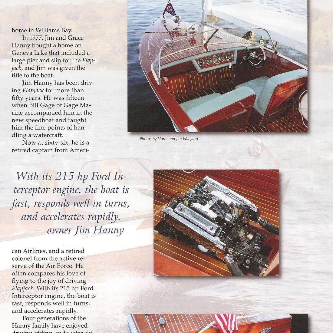 Hacker Restoration by Bergersen Boat in Classic Boating