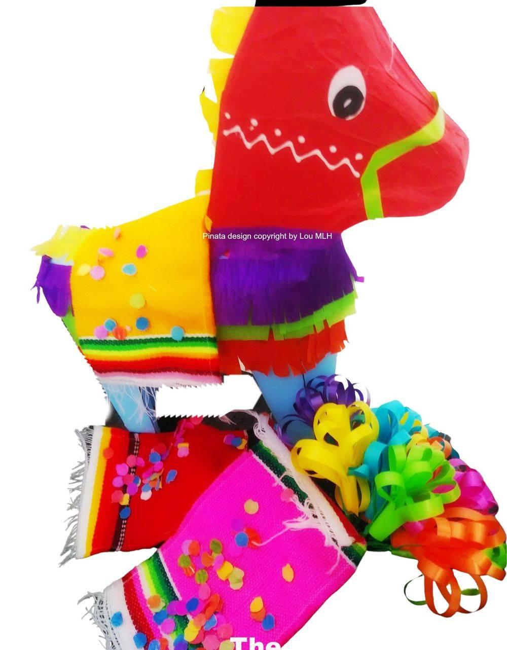 donkey mini pinata
