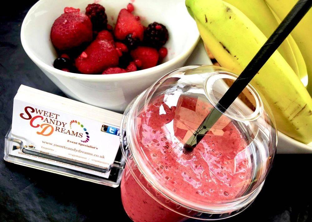 fruit smoothie bar hire