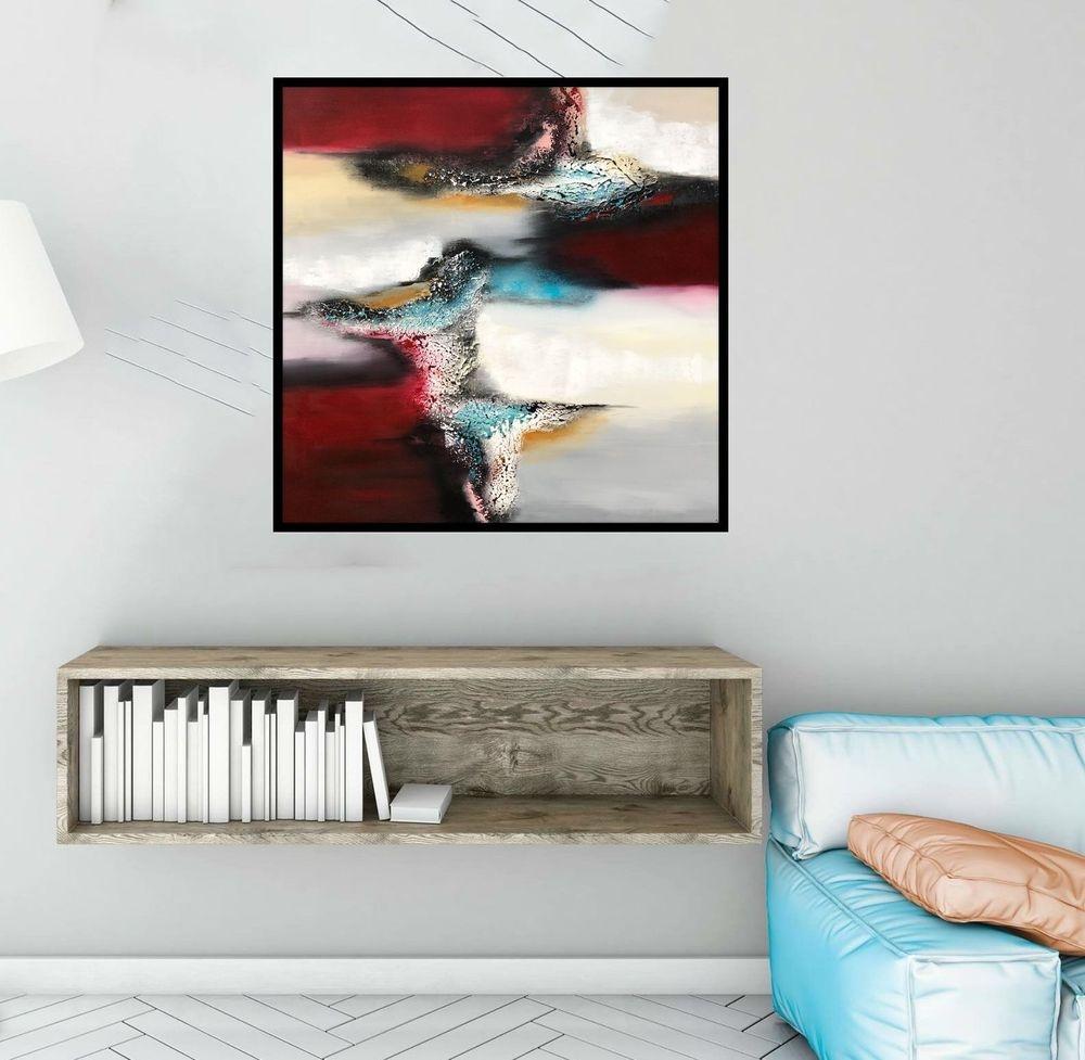 malerier-moderne-farverige-abstrakte-kunst-nr.281a