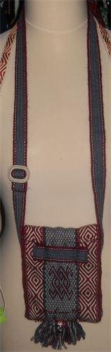 Brettchen gewebte Bortentasche Preis: 45,00 € zzgl. Versandkosten Nr. 43