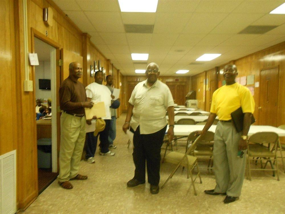 Volunteers Preparing for WOW Wednesday