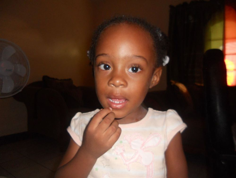 baby daughter Cameron