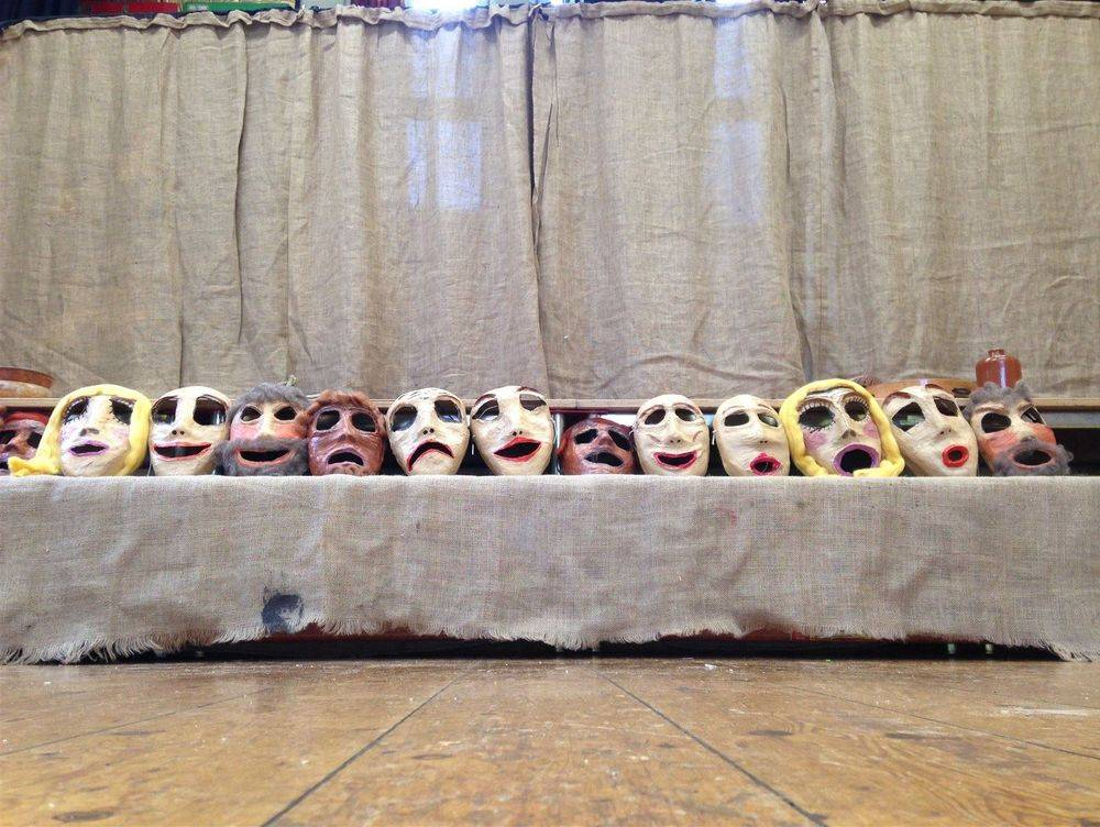 Ancient Greek Theatre workshop for primary schools ks1 & ks2