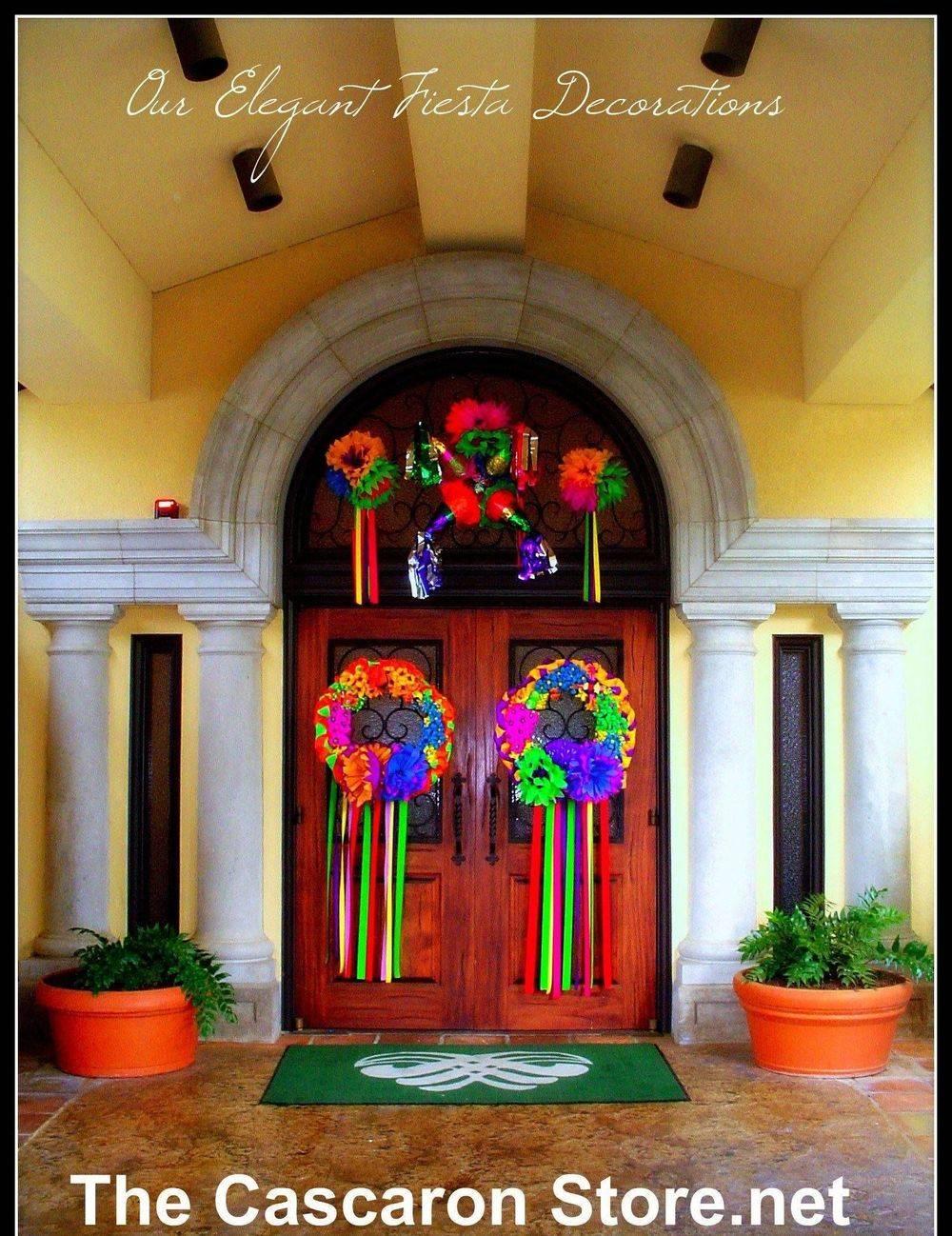 custom event entrance decorations