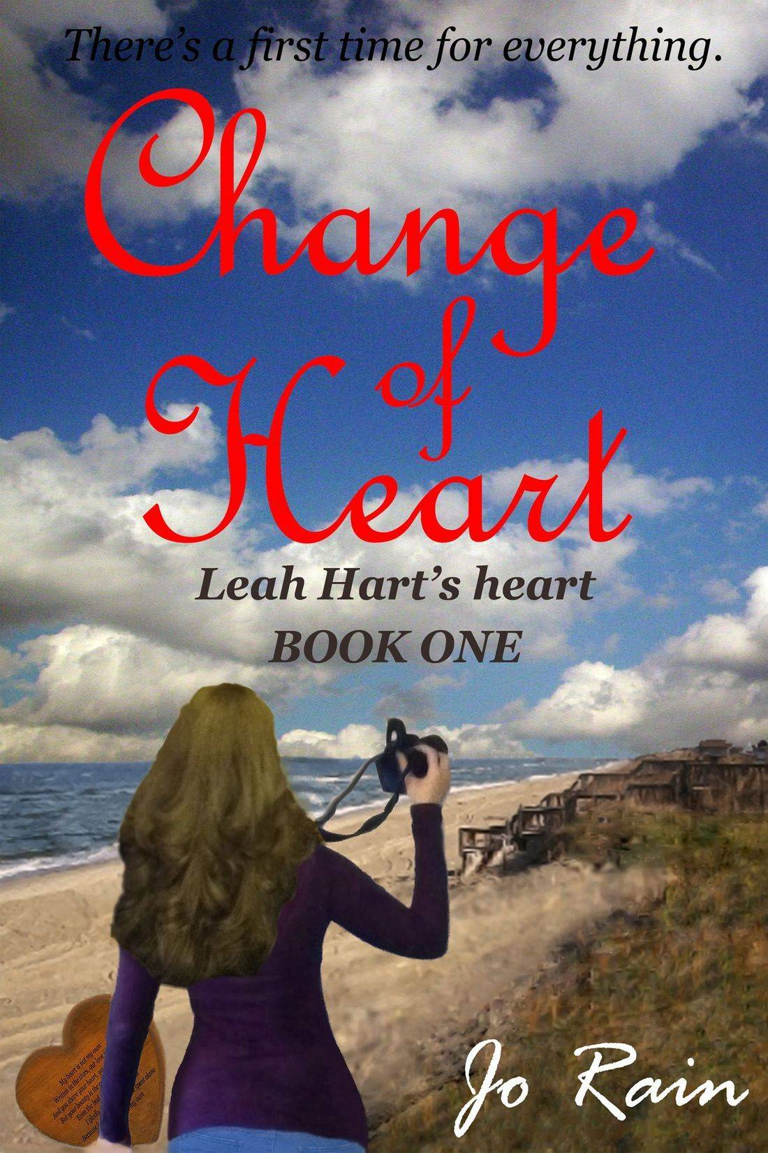 jo rain, leah hart series, leah hart's heart, change of heart