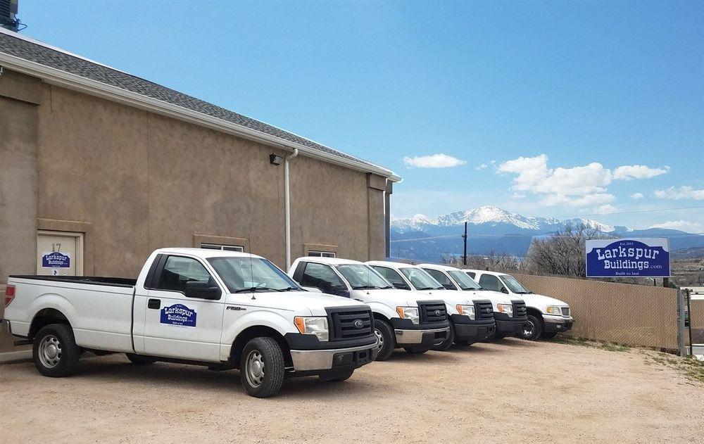 Larkspur Buildings Colorado Springs Location