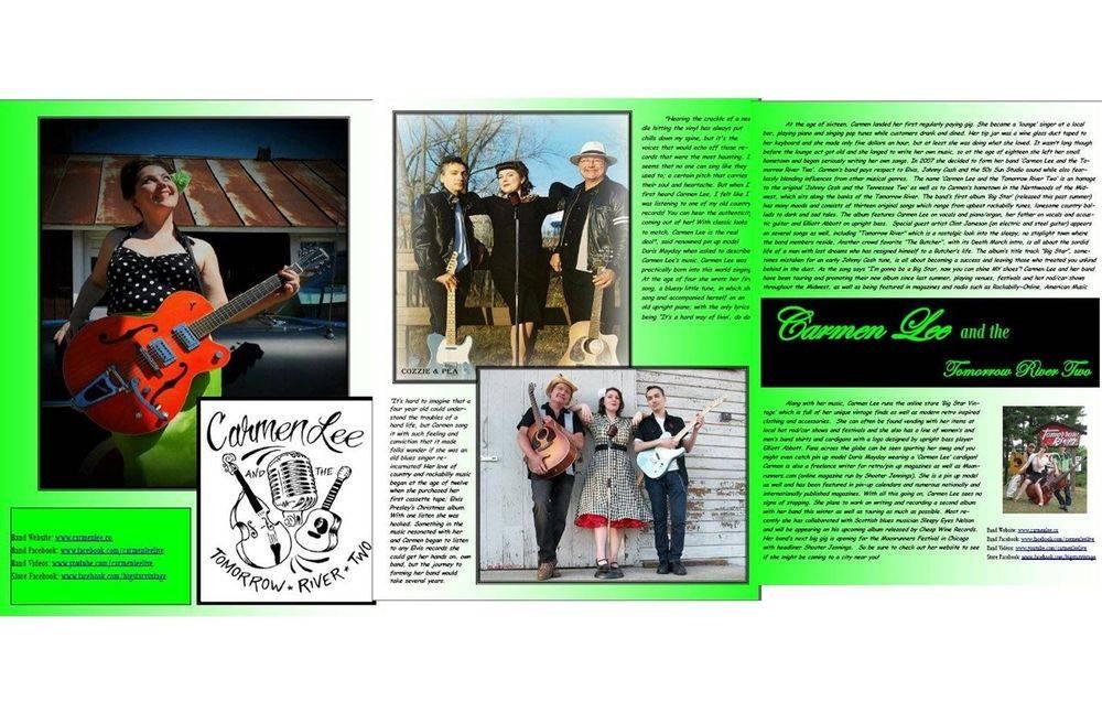 Lush Kittens Pinup Magazine Issue #1 Feb 2013