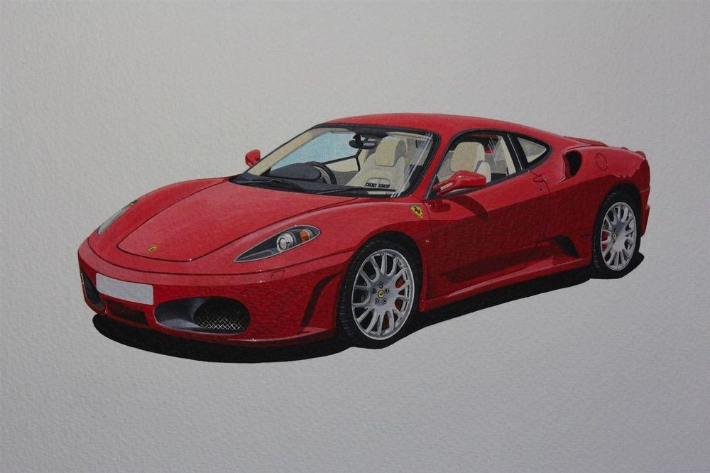 Ferrari 430 Modena (Acrylic) : £175