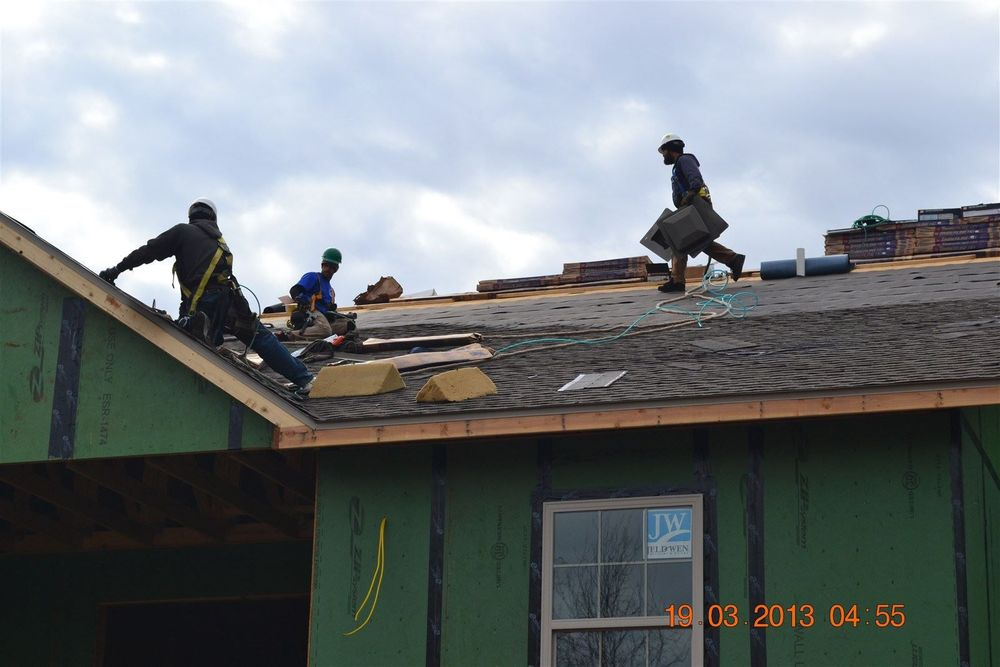 DSC_0412.JPG is an image of ABC Roofing during roof construction