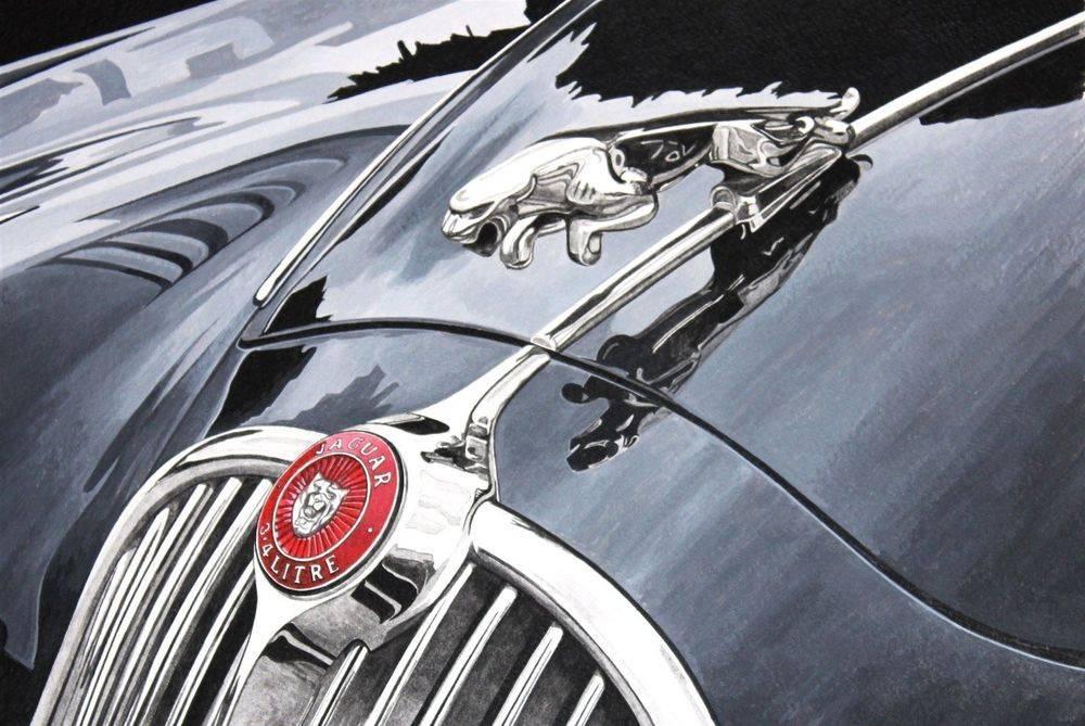 Jaguar 3.4 Bonnet (Acrylic) : Sold