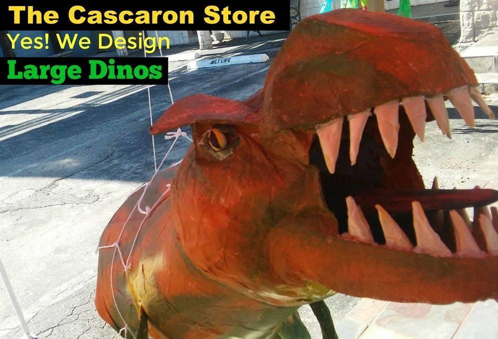 large dinosaur custom display decorations