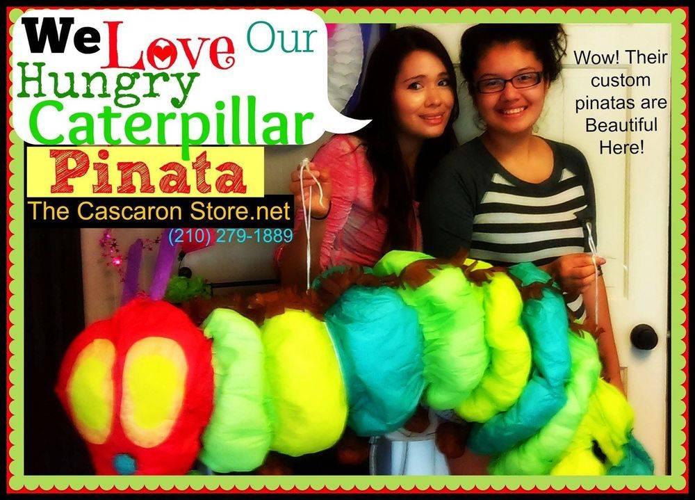 Hungry Caterpillar Pinata