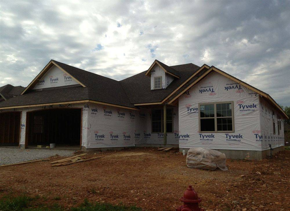 New construction roof completed