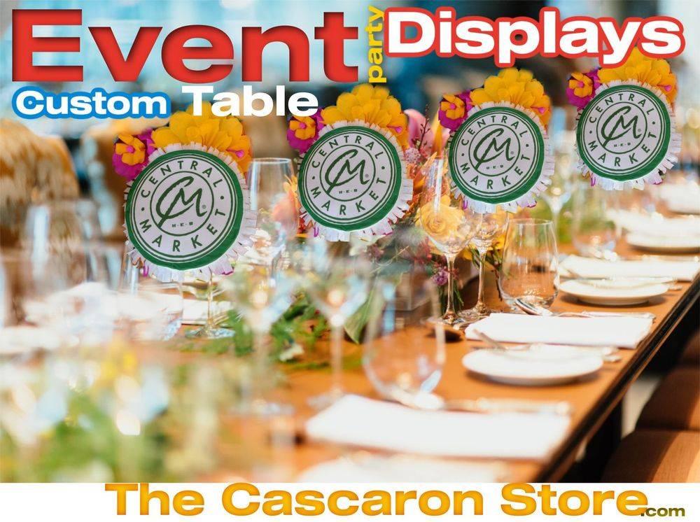 event custom table displays